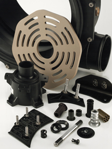 Custom Thermoplastic Injection Molded Plastic Components